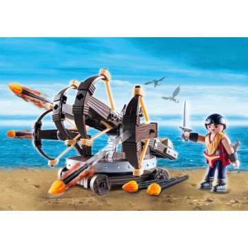 Playmobil Eret with 4 Shot...